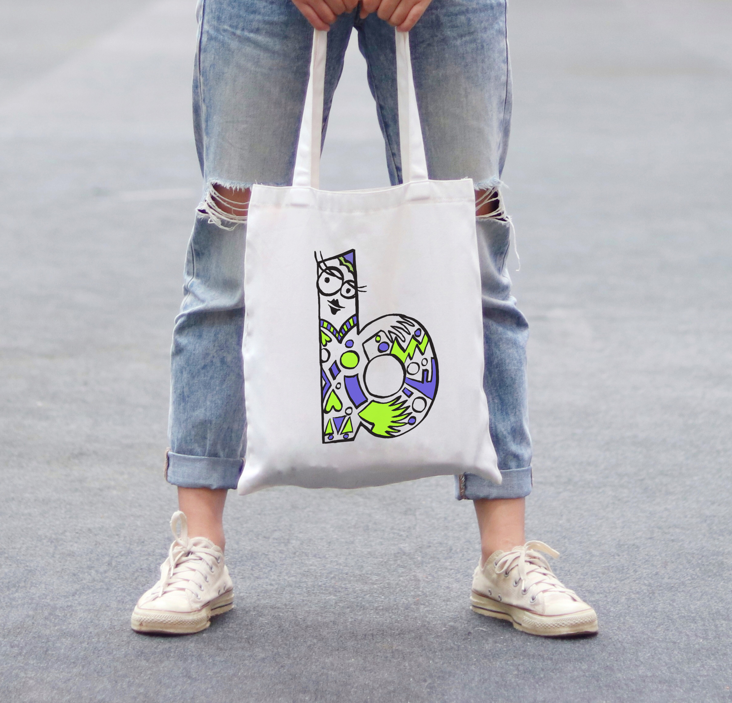 Typo collection - t-shirts & bags 6