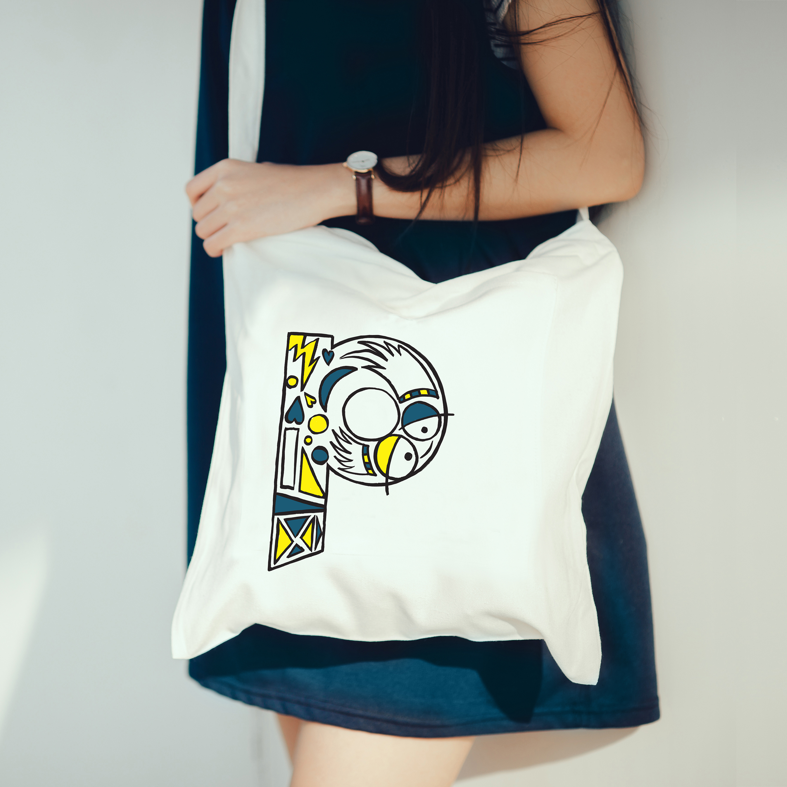 Typo collection - t-shirts & bags 9