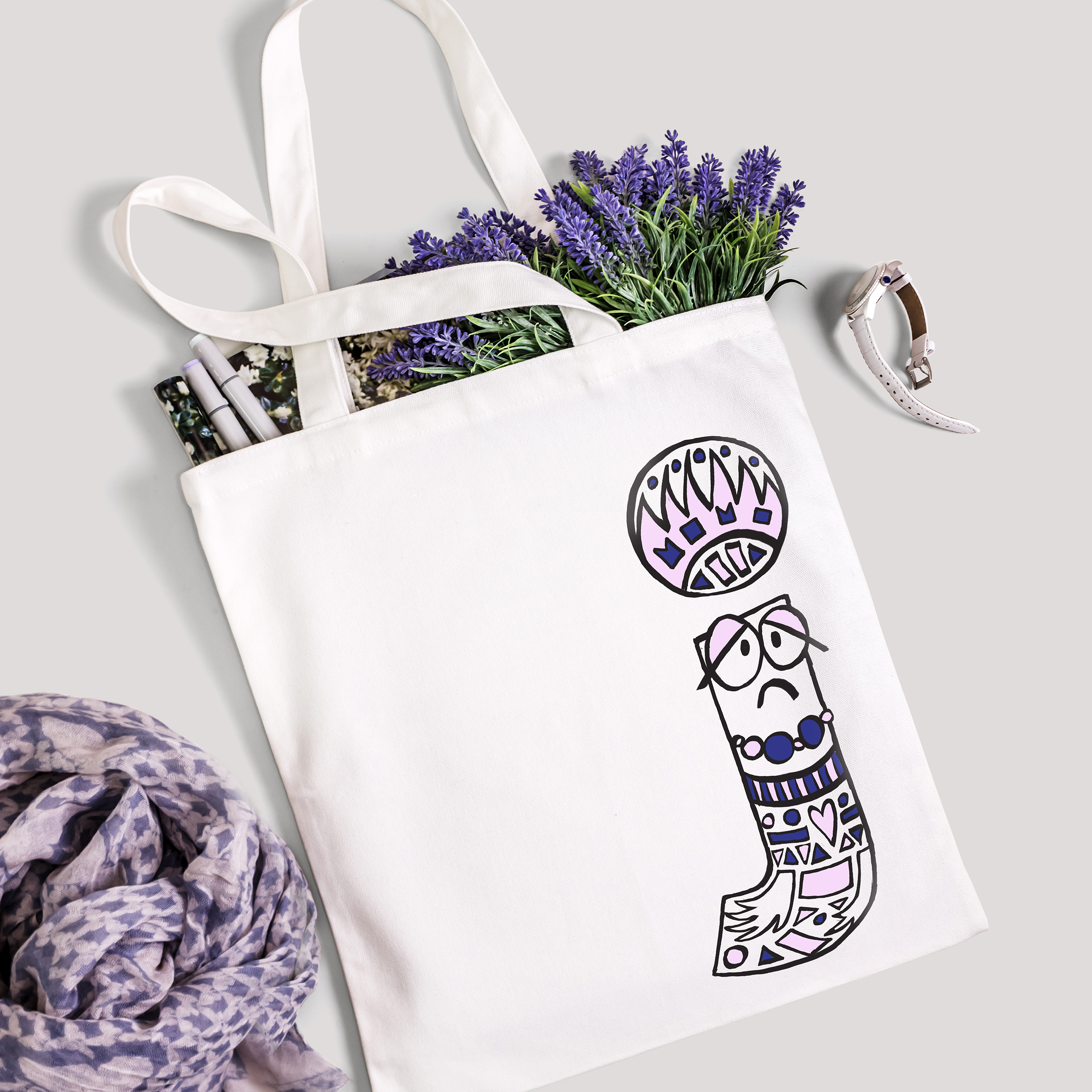 Typo collection - t-shirts & bags 16