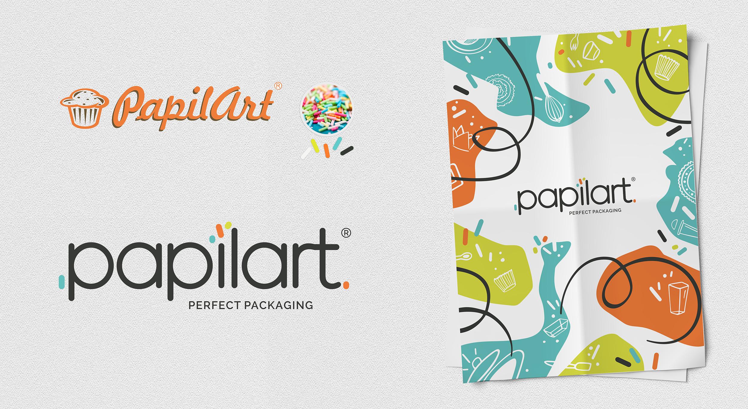 Papilart - rebranding 2